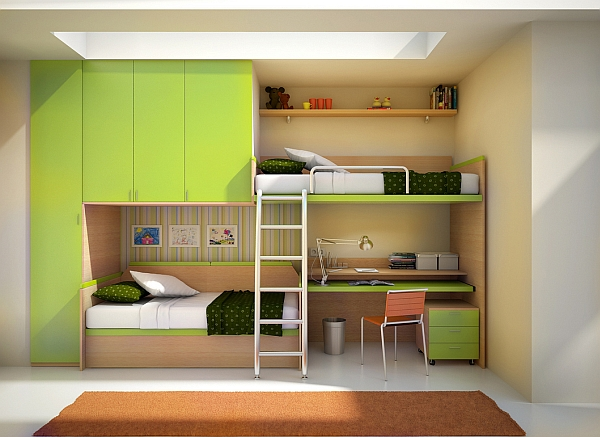 Locker room bedroom furniture