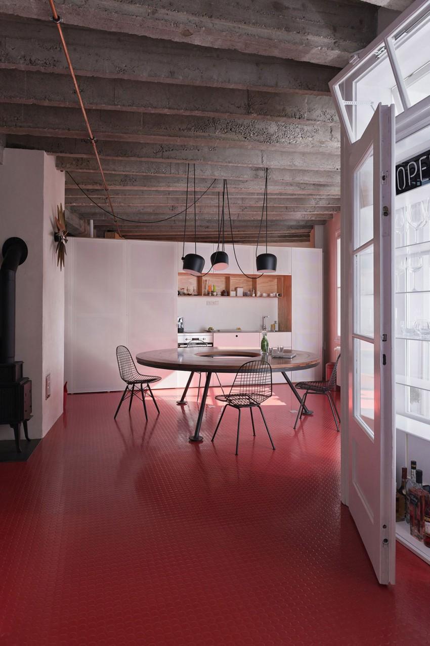 Дизайн интерьера дома в Словакии
