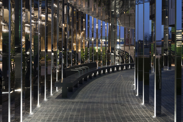Выставка световых инсталляций в жилом квартале King's Cross