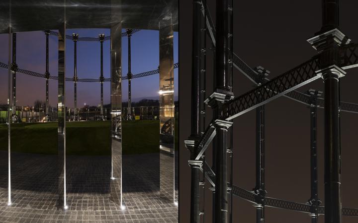 Выставка световых инсталляций: движение света повторяется каждые 20 минут