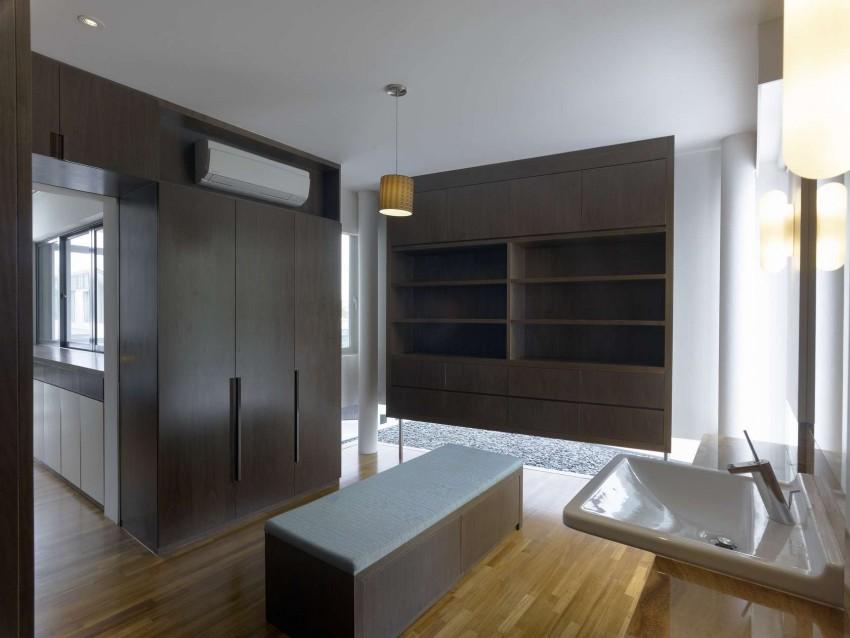 Дизайн интерьера резиденции в Сингапуре