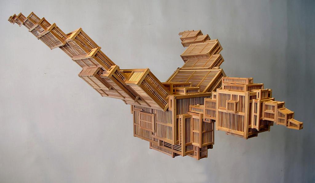 Bird Sculpture - Sculpture by Kum Chi Keung, Hong Kong