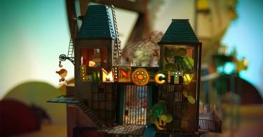 Город Люмино: увлекательная видео игра ручной работы