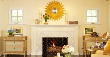 традиционные элементы и украшения в роскошном дизайне интерьера