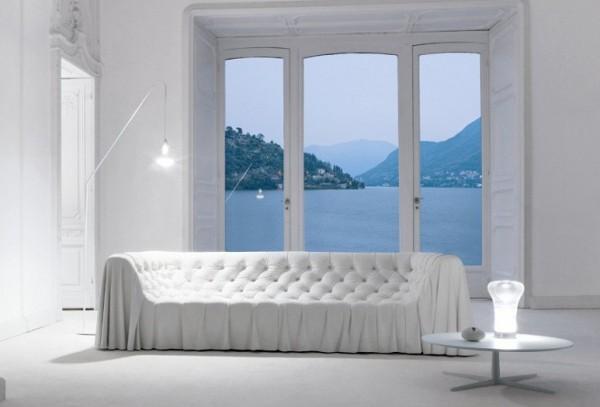 современные итальянские диваны для больших гостиных