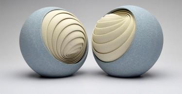 Абстрактные керамические скульптуры Мэтью Чамберса