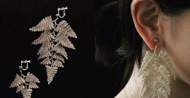 Михо Фудзита: изящная вязаная бижутерия в формах лесной природы