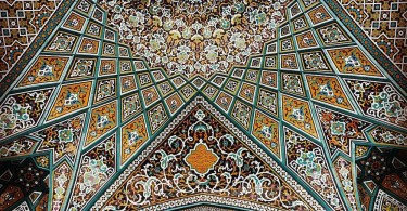 Мердад Расулифард: декор потолков иранских мечетей