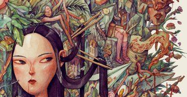 Эдем: впечатляющая акварельная иллюстрация от Марии Тюриной