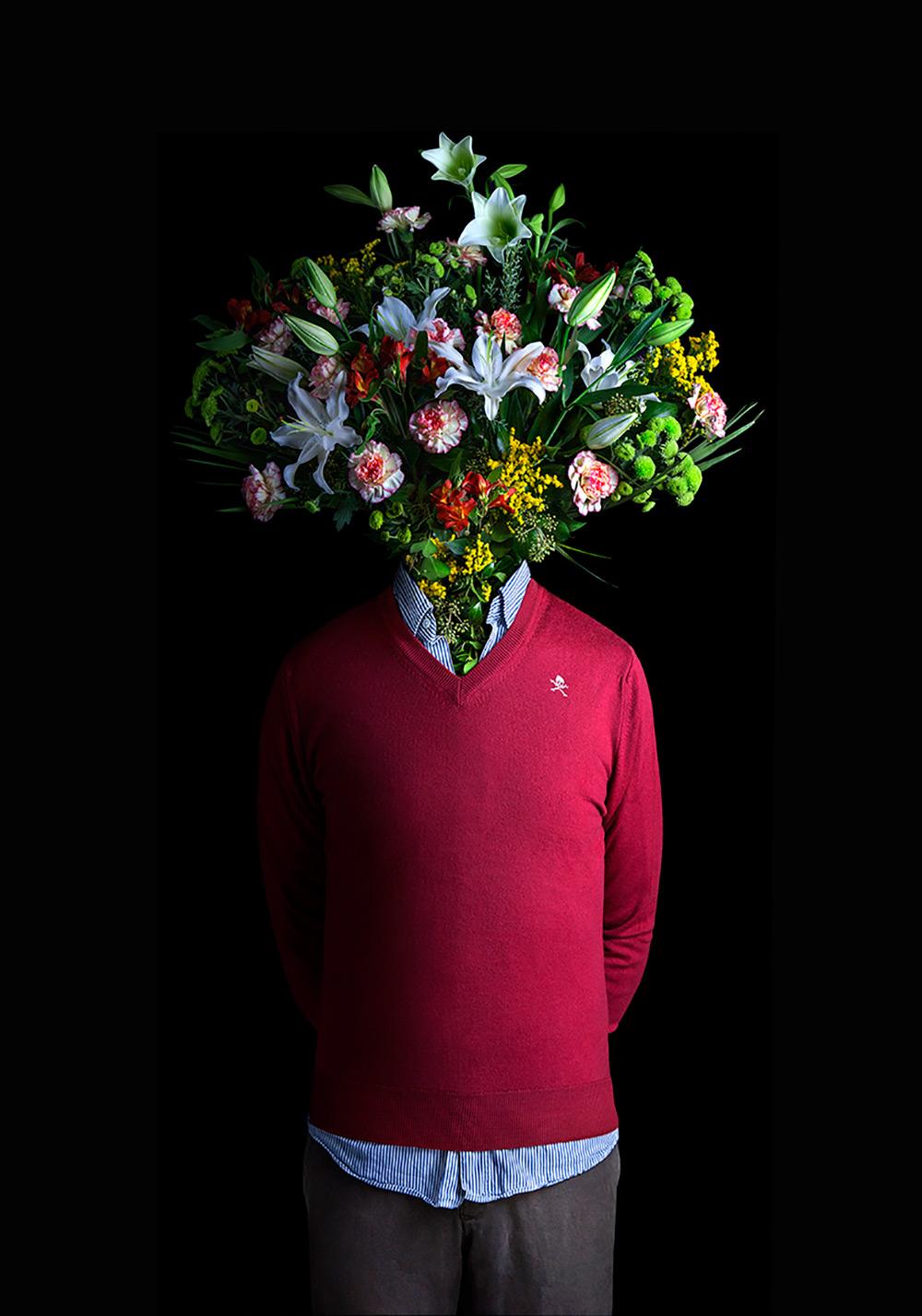концептуальность фото с цветами различают