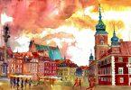 Майа Вроньска: изысканные архитектурные акварели из новой коллекции