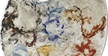 Маттиас Шаллер: абстрактые портреты знаменитых живописцев через краски на палитрах