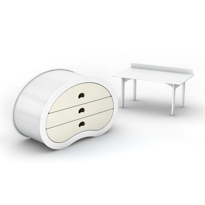 Пеленальный столик-комод Beaneasy Dream