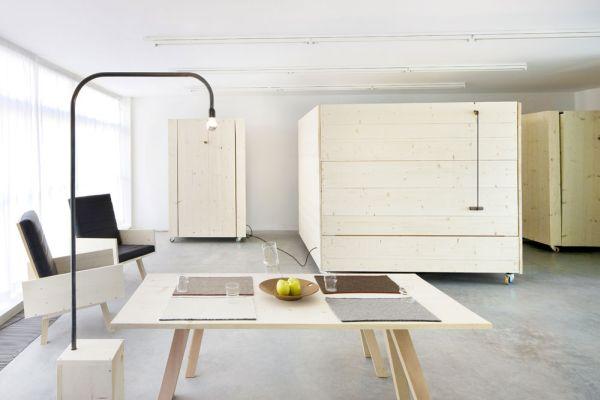 Коллекция мебели от Harry Thaler для Museum of Modern and Contemporary Art