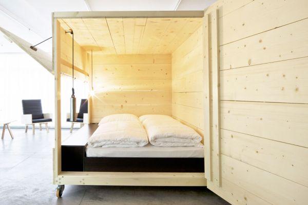 Уникальная кровать от Harry Thaler для Museum of Modern and Contemporary Art
