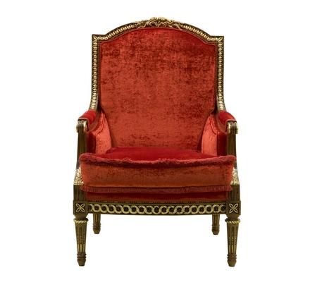 Экстравагантное кресло Denny с фигурным основанием