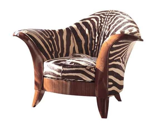 Леопардовое креслице из коллекции Raphael