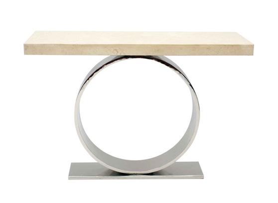 Оригинальный консольный предмет мебельного оснащения