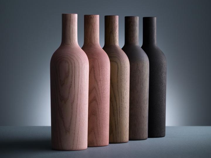 Мебель в форме бутылок из коллекции Decanter от DINN