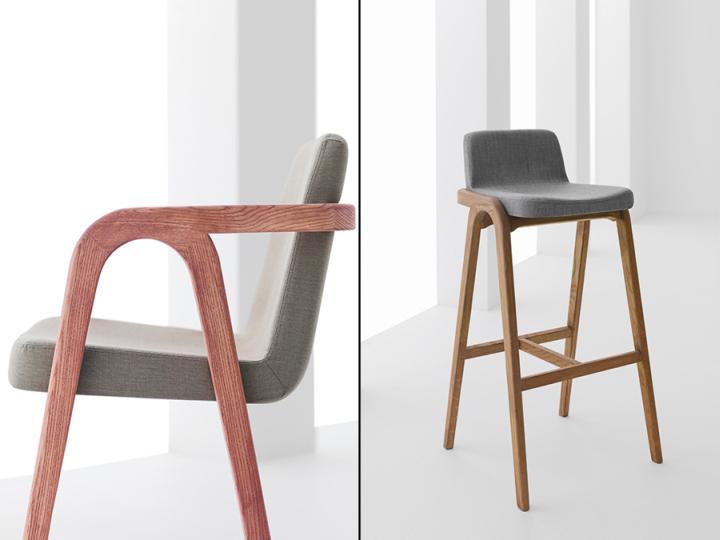 Барный стул из коллекции Decanter от DINN