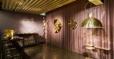 Мебель и декор из латуни и бронзы от Ghidini 1961