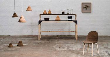 Натуральнее некуда: мебель из водорослей