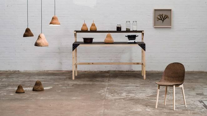 Мебель из водорослей от Джонаса Эдварда и Николая Стинфата