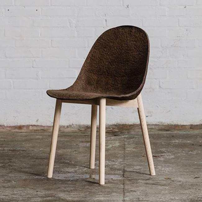Необычная дизайнерская мебель из водорослей - Фото 1