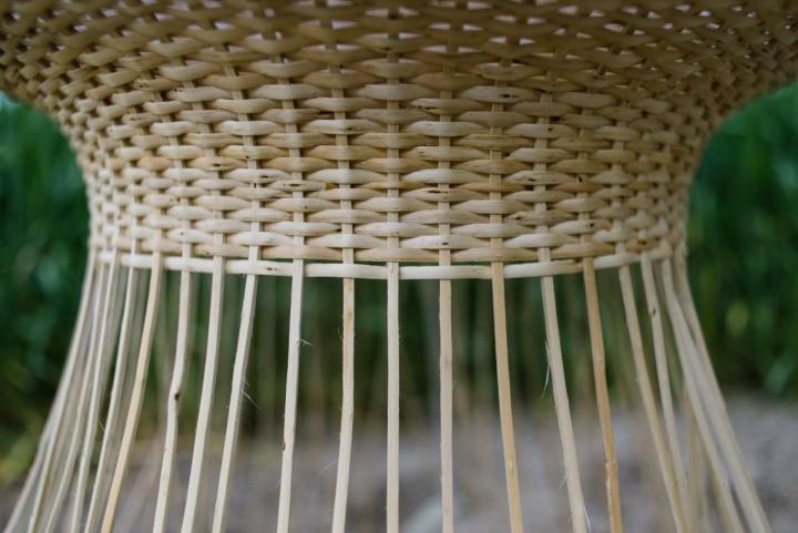 Плетенная структура лампы Medusa от Claesson Koivisto Rune & Made in Mimbre