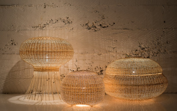 Яркие лампы Medusa от Claesson Koivisto Rune & Made in Mimbre
