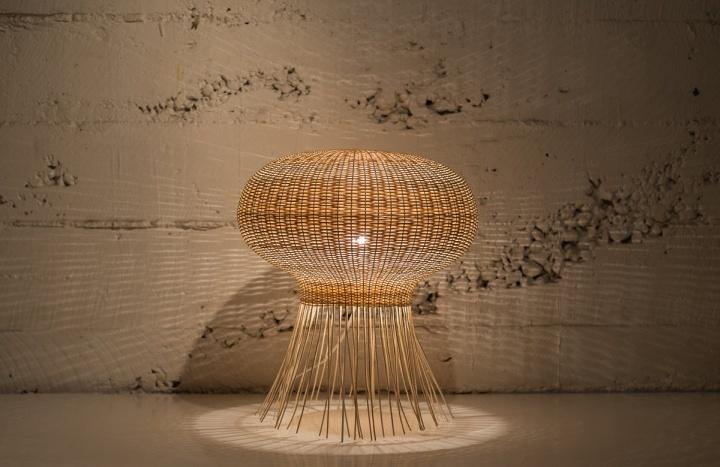 Красочная лампа Medusa от Claesson Koivisto Rune & Made in Mimbre