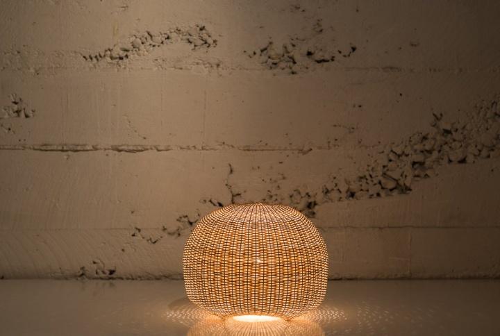 Напольная лампа Medusa от Claesson Koivisto Rune & Made in Mimbre