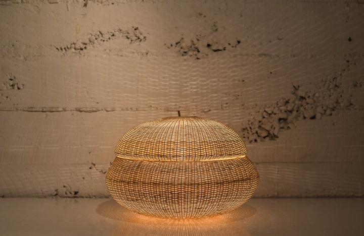 Удивительная лампа Medusa от Claesson Koivisto Rune & Made in Mimbre