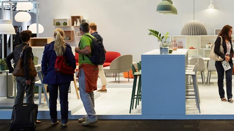 Дизайн кухни в белом цвете на выставке Maison&Objet