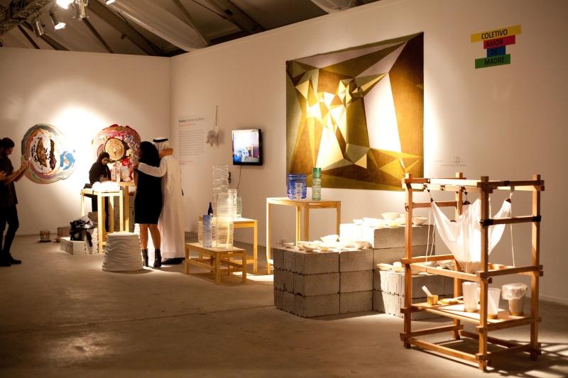 Выставка настоящих произведений искусства на Design Days Dubai