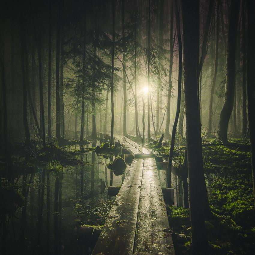 Таинственные картинки природы