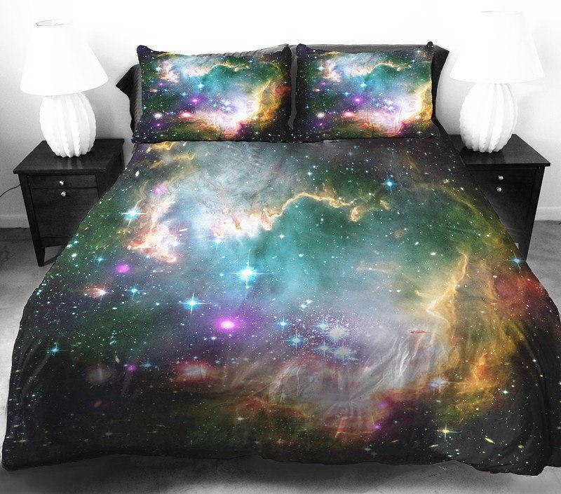 Космическая стилистика в дизайне постельного белья от Tbedding
