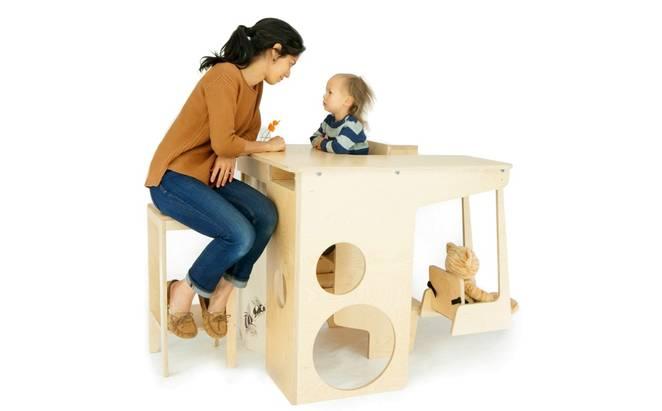 Современная многофункциональная детская мебель