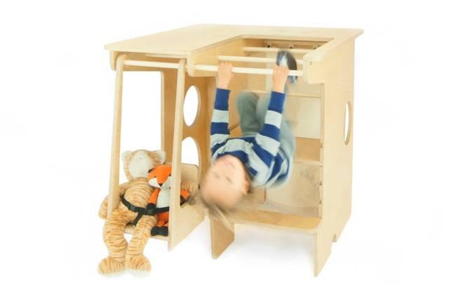 Многофункциональная детская мебель из дерева - Фото 1