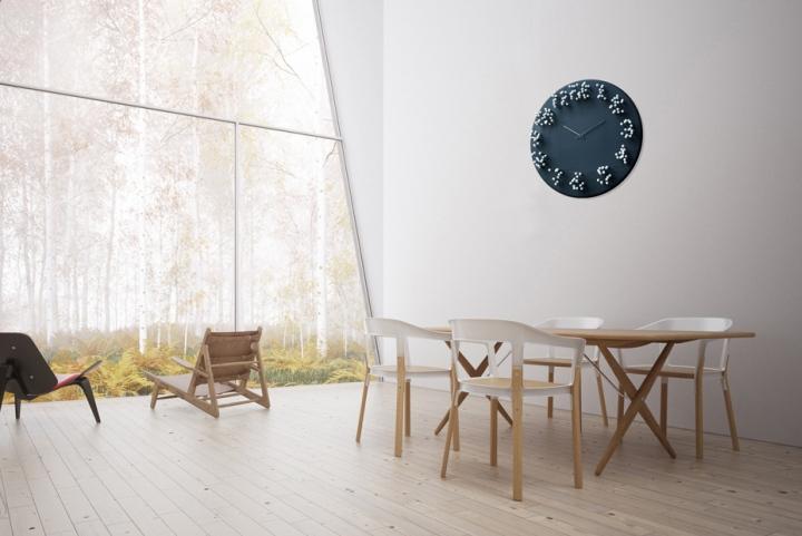 Настенные часы от J.P.Meulendijks