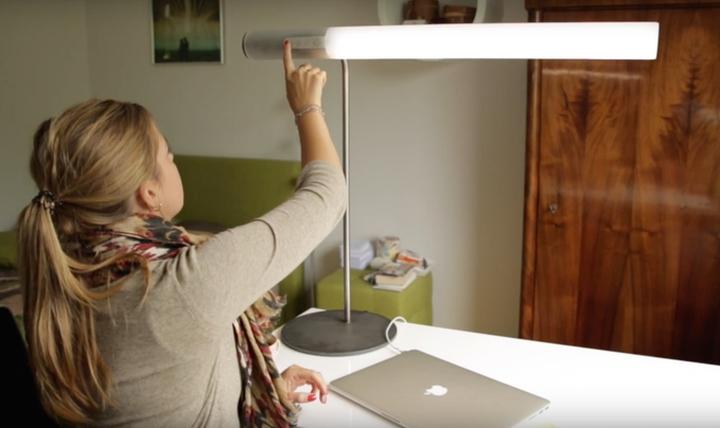Модель настольной лампы от HEAVN с сенсорным управлением