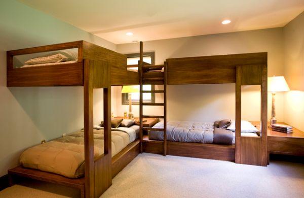 Модели двухъярусных кроватей: Двухуровневые кровати для номера отеля