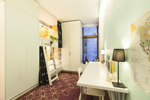 Модели двухъярусных кроватей: Стильно оформленная детская комната