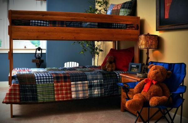 Модели двухъярусных кроватей: Яркие акценты в детской комнате