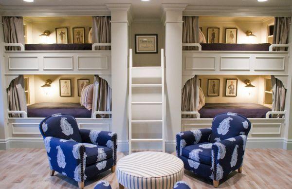 Модели двухъярусных кроватей: Детская в классическом стиле
