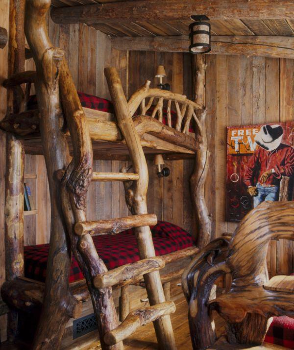 Модели двухъярусных кроватей: Сказочная мебель в детской