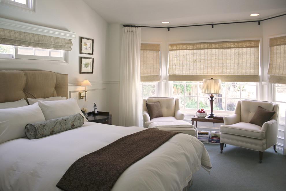 Оформление интерьера спальни в пастельных тонах