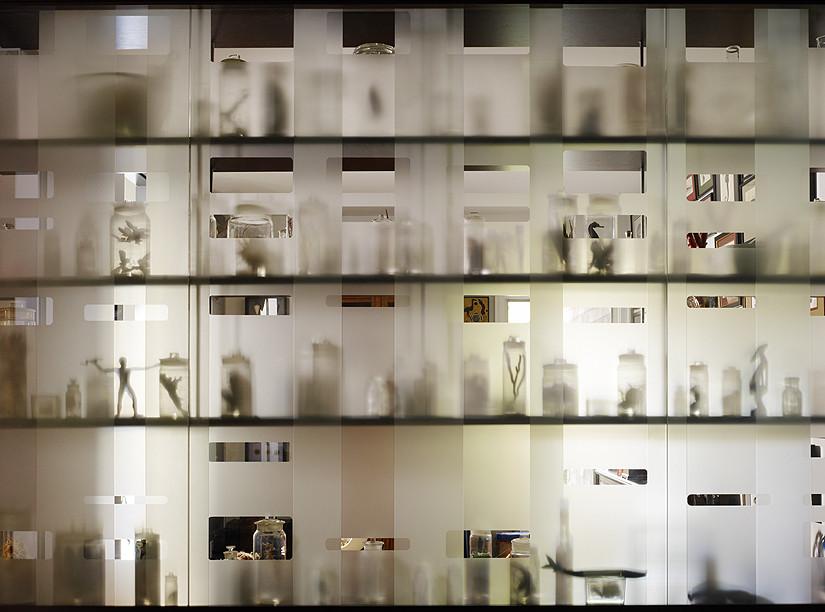 Пескоструйное стекло в интерьере
