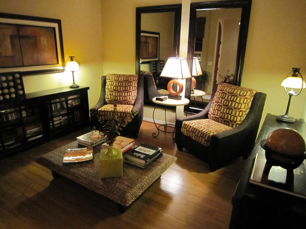 Винтажная мебель в интерьере зоны отдыха