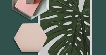 Постер Vontrueba VEGGIE коллекция: большой тропический лист